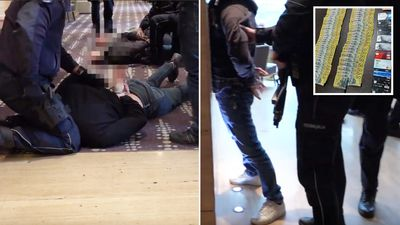 Aussie 'drug smugglers' caught up in dramatic hotel arrest