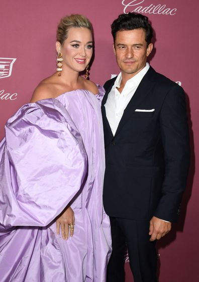 Katy Perry and Orlando Bloom attend Variety's Power Of Women: Los Angeles Event 2021