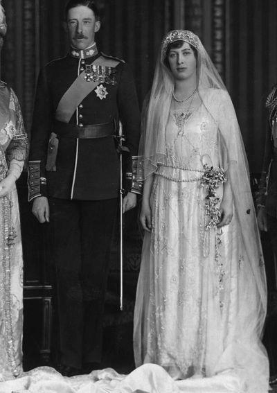 Mary, Princess Royal, married 1922