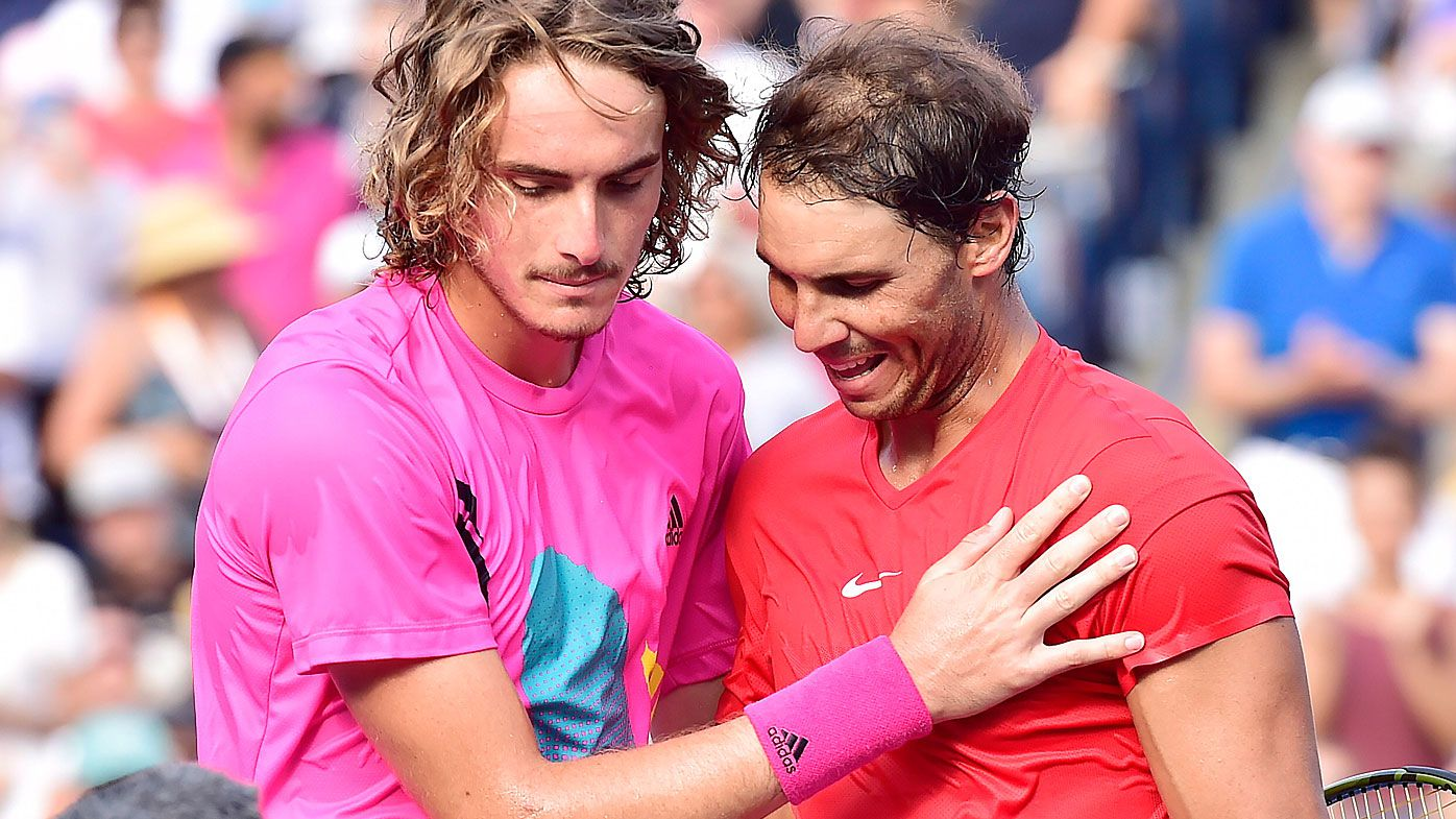 Tsitsipas and Nadal