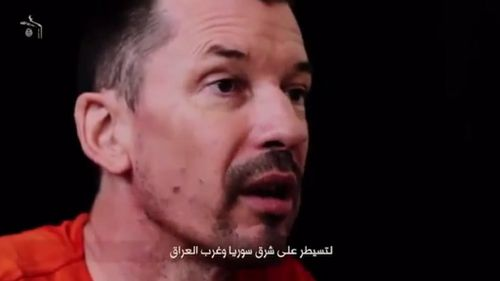 """Mr Cantlie promises to reveal the """"truth"""" about ISIL in a series of videos. (YouTube)"""
