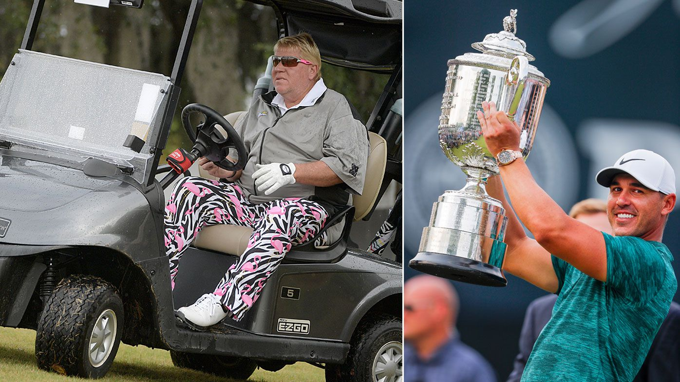John Daly and Brooks Koepka
