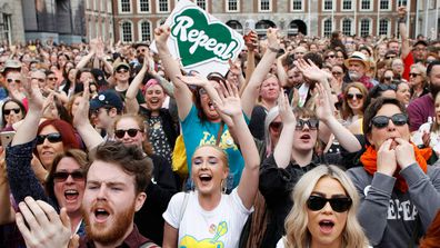 Ireland recently voted to repeal the 8th amendment and overturn archaic abortion laws. (AP)