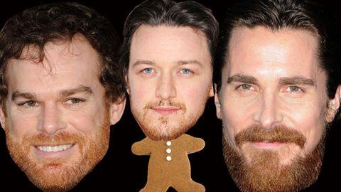 Ginger beard men