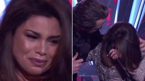 Watch: Voice star Sabrina Batshon overcome with tears after show-stopping performance
