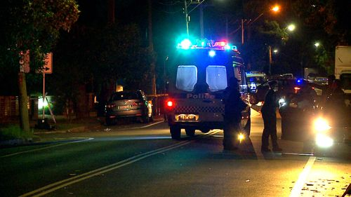 Just before 10.30pm, emergency services were called to Budgeree Road, Toongabbie, following reports a man had been stabbed.