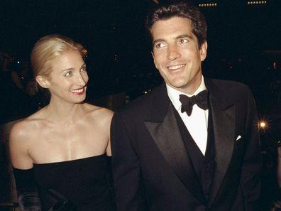 Carolyn Bessette and John F. Kennedy Jr.
