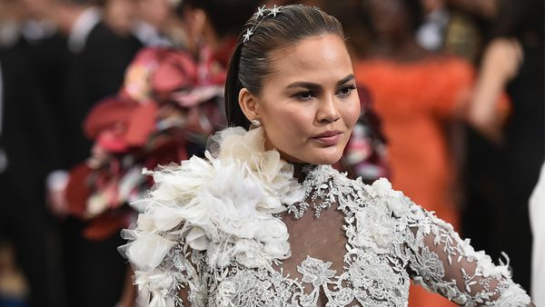 Pretty fierce: Chrissy Teigen is not afraid to take on internet trolls when they criticise her. Image: Getty