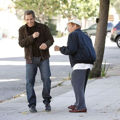Ben Stiller and Jerry Stiller: 2007