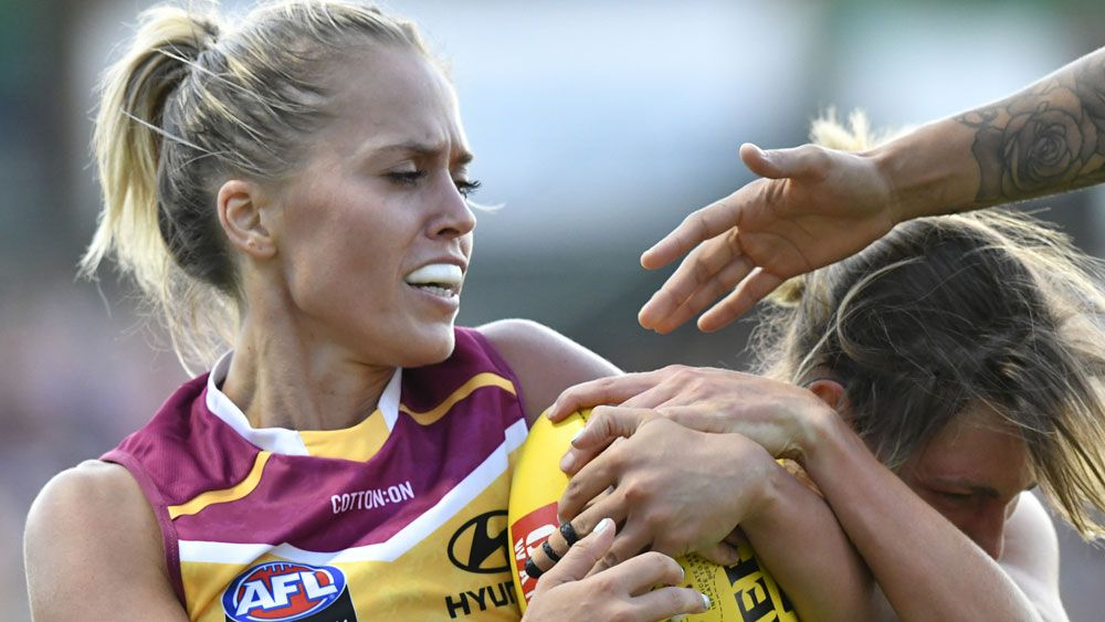Crows sweat on scans for star AFLW skipper