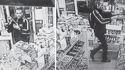 Queensland police hunt stick wielding bandit after service station hold up