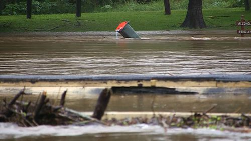 Multiple evacuation orders remain in place. (9NEWS)
