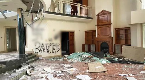 An abandoned Gold Coast mansion has been turned into a shadow of its former self, becoming a haven for squatters, drug addicts thieves, all while becoming a headache for neighbours.