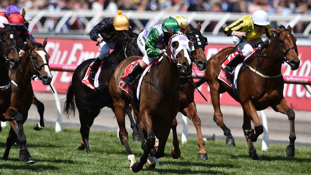 Prince of Penzance wowed Flemington in 2015. (AAP)