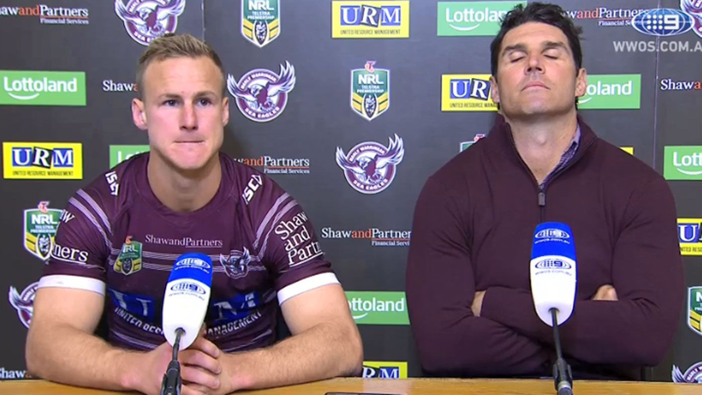 Daly Cherry-Evans and Trent Barrett
