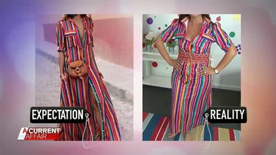 Women's Fashion online expectation v reality 4