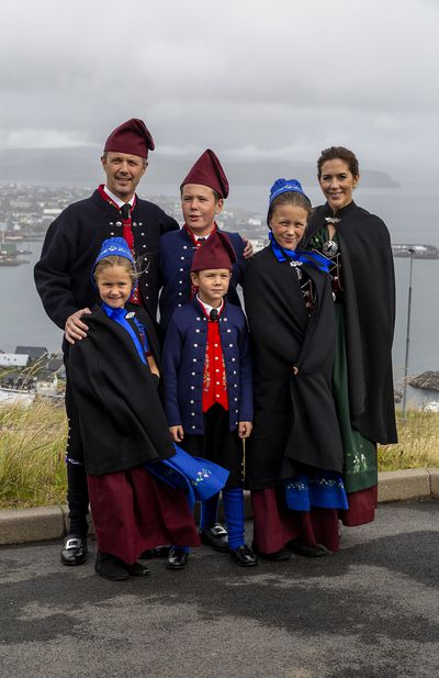 Danish royals visit the Faroe Islands, August
