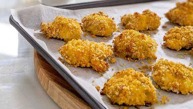 Easy, healthier chicken nuggets bites