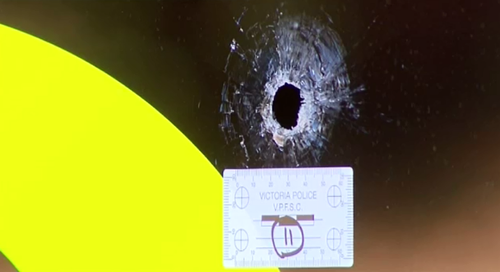 South Melbourne gym peppered by bullets