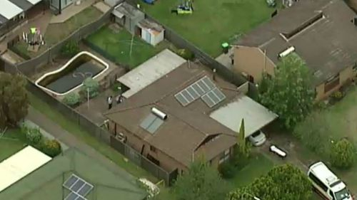 The child was found unconscious in a backyard swimming pool. (9NEWS)