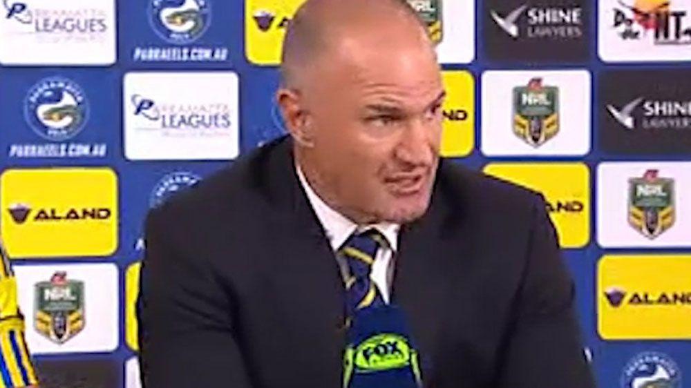 Eels didn't handle NRL title talk: Arthur