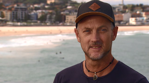 Drone Shark's Jason Iggleden raised the alarm with lifeguards when his drone spotted a large great white feeding off Bondi Beach yesterday morning.