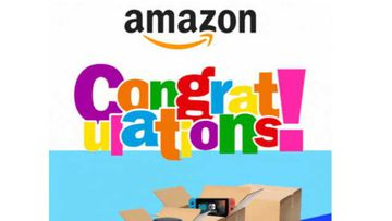 Scamwatch has received reports of emails pretending to be from Amazon. They claim you have won a prize and attempt to steal your personal information. It's a scam, so don't click the link and delete the email.
