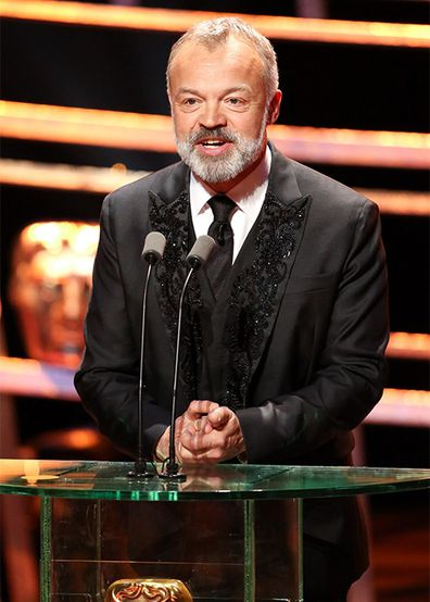 Graham Norton, host, British Academy Television Awards, 2016