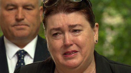 Mark Russell's sister made an emotional appeal with police, as a $1m reward for information on his murder was announced in Sydney.