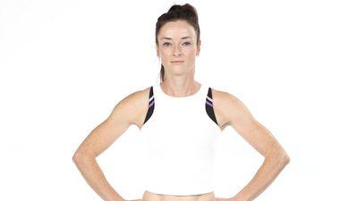Chantelle True competing in Australian Ninja Warrior 2020.