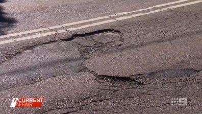 Man's battle with council after pothole damages wheels