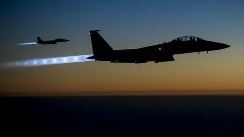 US-led air strikes in Syria kill 170 Islamic State jihadists
