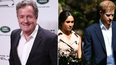 Piers Morgan accuses Harry and Meghan of 'exploiting' Princess Diana's death for money