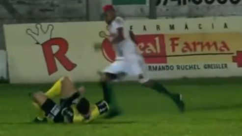 Footballer charged with attempted murder for violent attack on referee during game