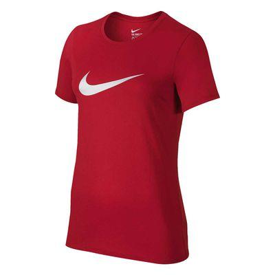 <strong>Nike Women's Swoosh Logo Tee</strong>