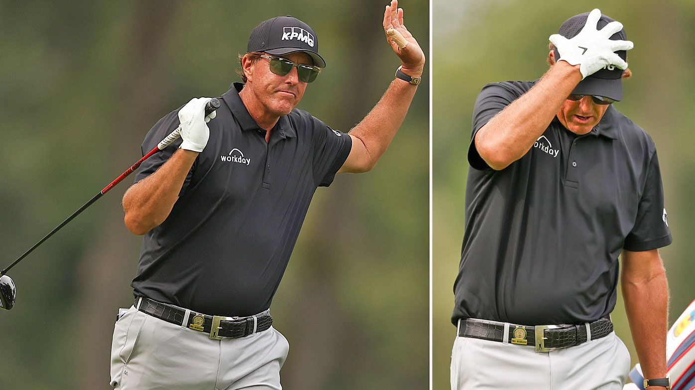 'I'm so sick of this': Phil Mickelson, Tiger Woods battle in first round of the US Open