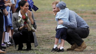 Young royal fan melts the hearts of Duke and Duchess of Sussex