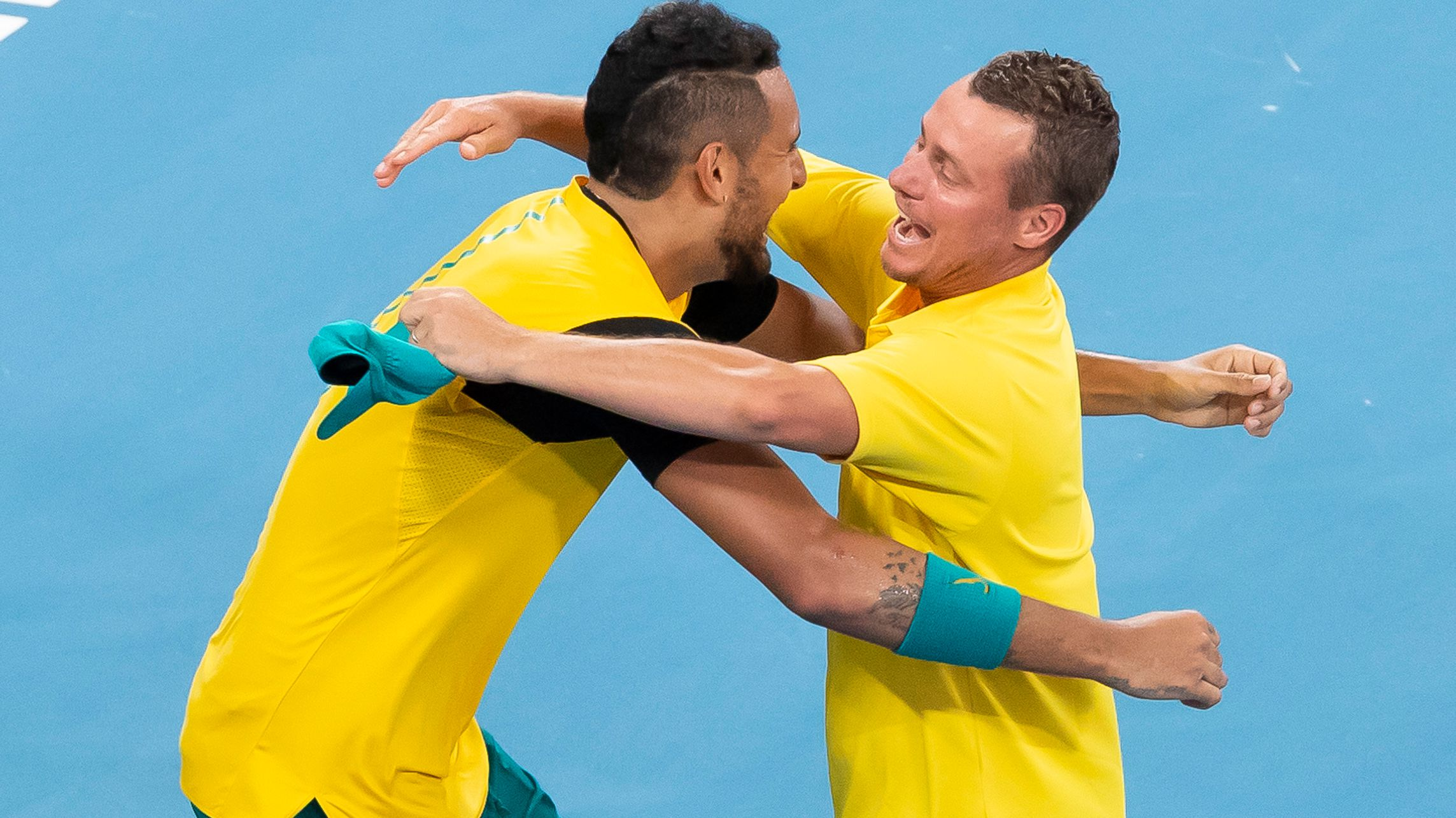 Nick Kyrgios' moment of clarity in heroic ATP Cup doubles performance