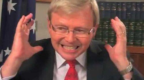 Mastermind behind leaked Kevin Rudd footage still unknown