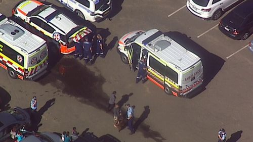 Emergency services and a rescue helicopter attended Stanwell park Beach, but the swimmer could not be revived.