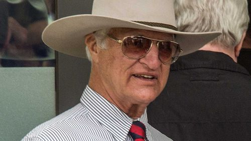 Bob Katter on election day. (AAP)
