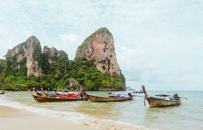 3. Railay Beach, Krabi, Thailand - 587 pictures per metre