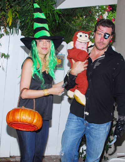 Tori makes Halloween a family affair.
