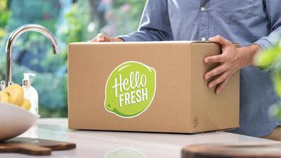 HelloFresh meal kit box