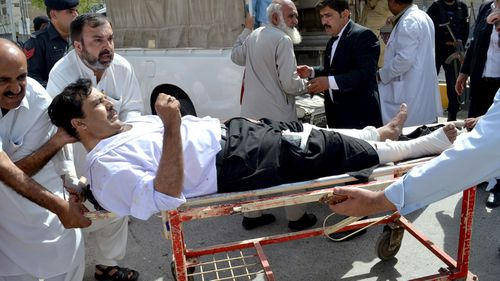 Pakistani Taliban faction claims deadly hospital blast