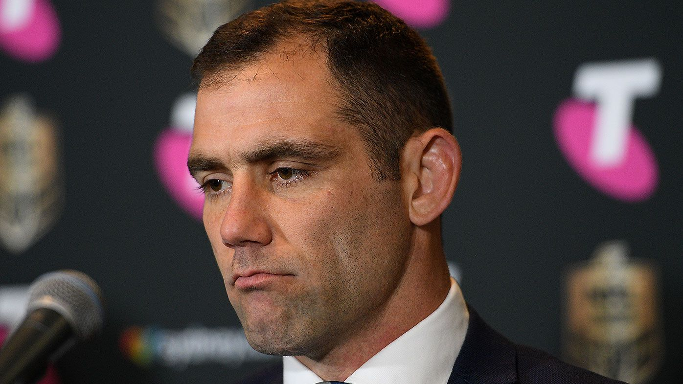 Cameron Smith undecided on playing future ahead of NRL grand final