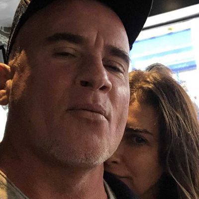 Jodhi Meares and Dominic Purcell