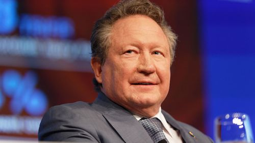 Andrew Forrest is one of Australia's richest people.