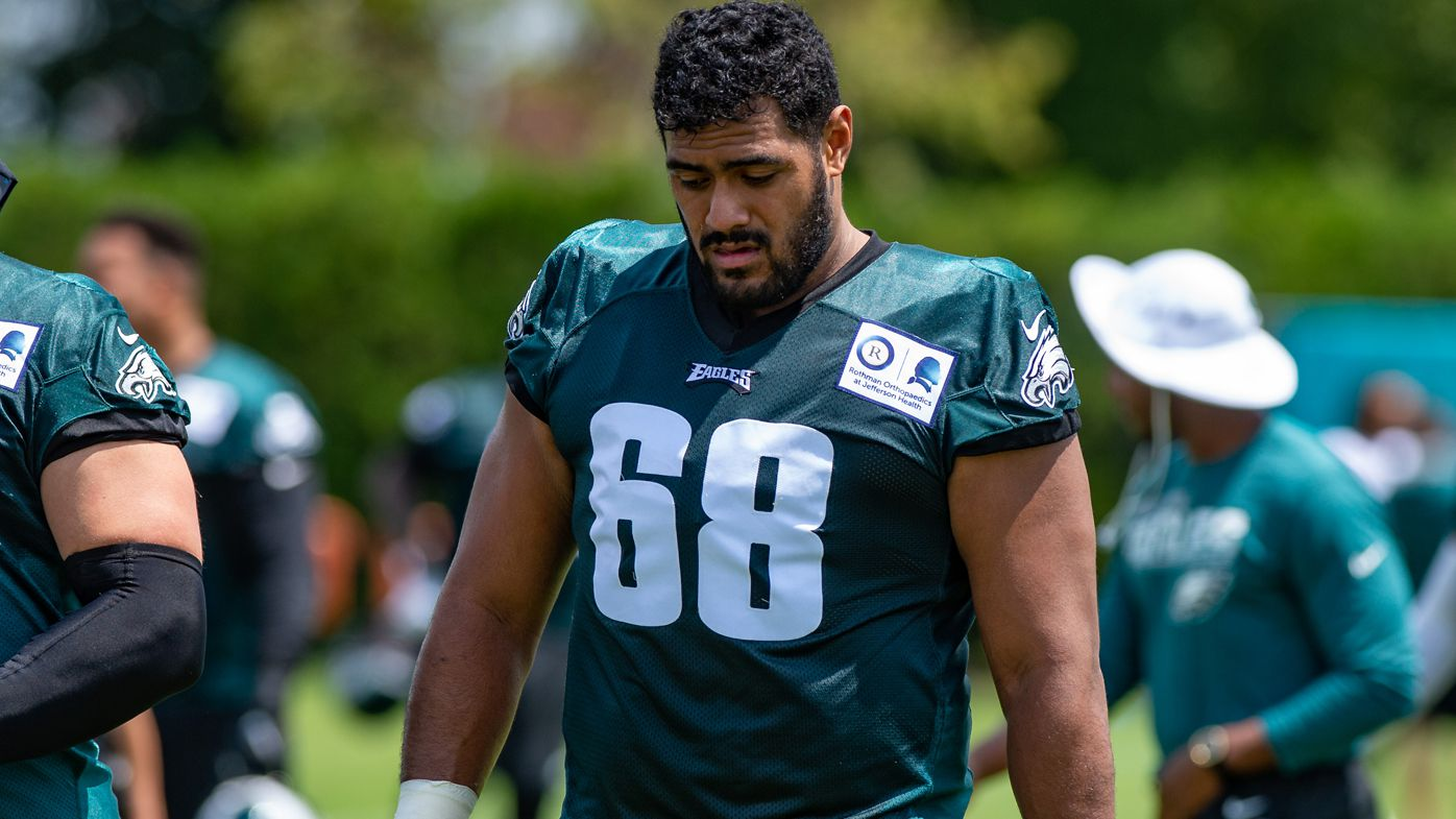 Jordan Mailata has been worked extremely hard at practice.