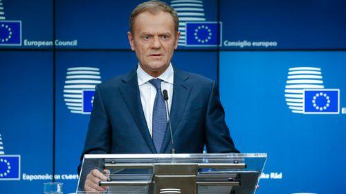 European Council president Donald Tusk has announced 14 EU countries will also expel Russian diplomats. (EPA/AAP)